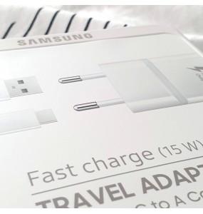 Chargeur rapide 15W + type C original Samsung